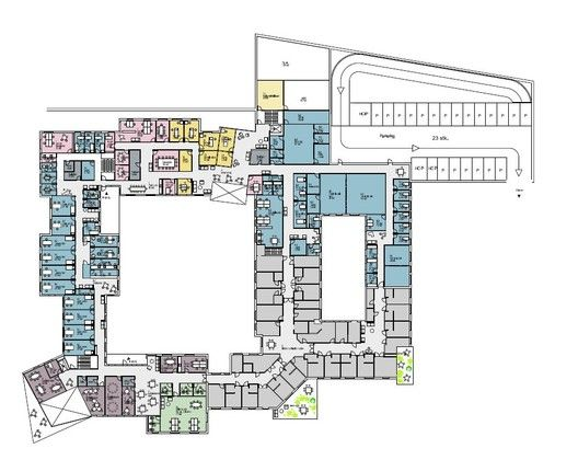 Gallery of New Healthcare Center Winning Proposal   NORD Architects - cuisinella villeneuve d ascq