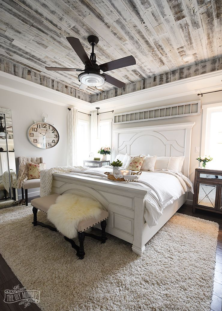 Our Modern French Country Master Bedroom One Room Challenge Reveal The Diy Mommy Country Master Bedroom Farmhouse Style Master Bedroom Modern French Country Master Bedroom