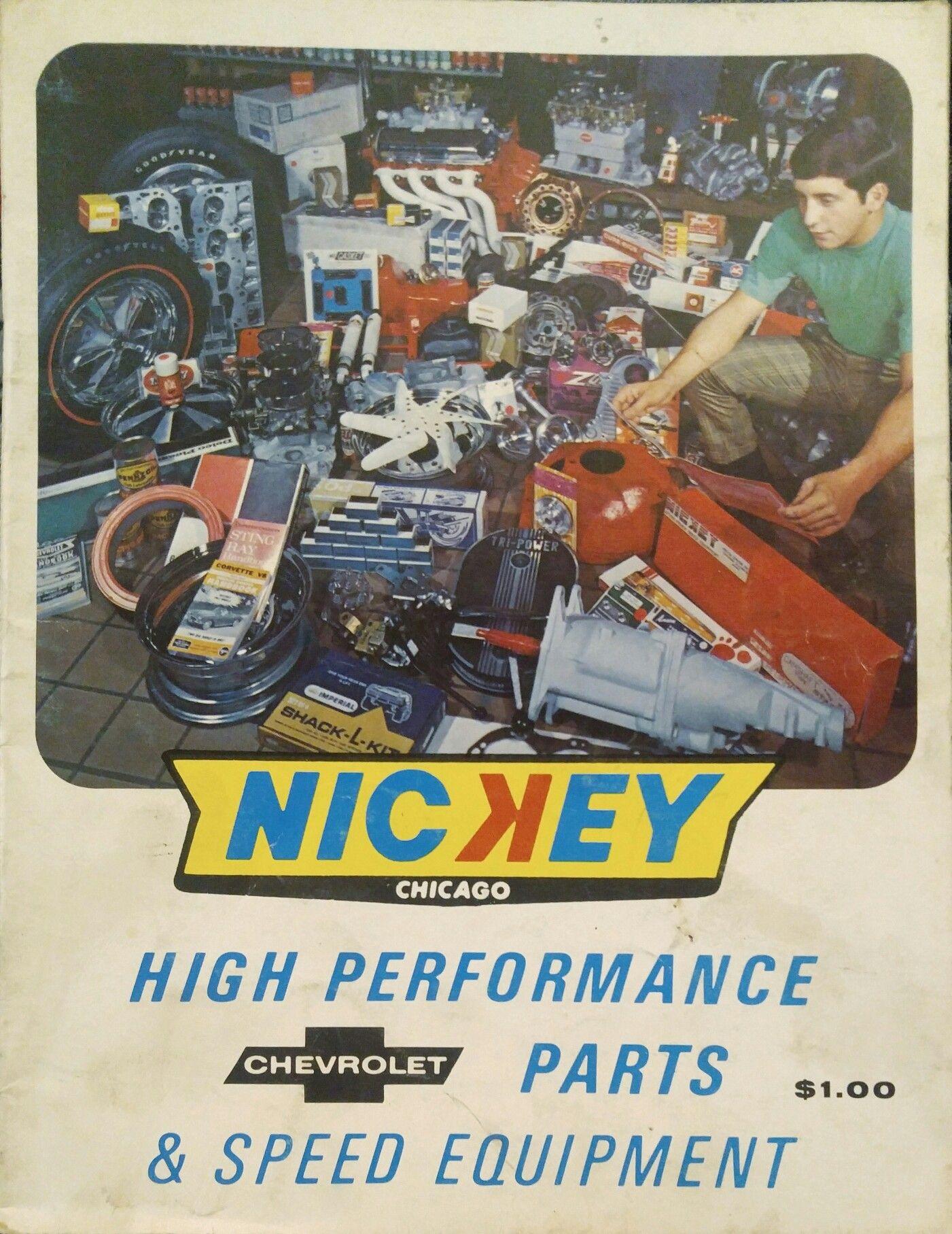 1969 Nickey Chicago High Performance Chevrolet Parts Catalog Chevrolet Parts Chevrolet Chicago