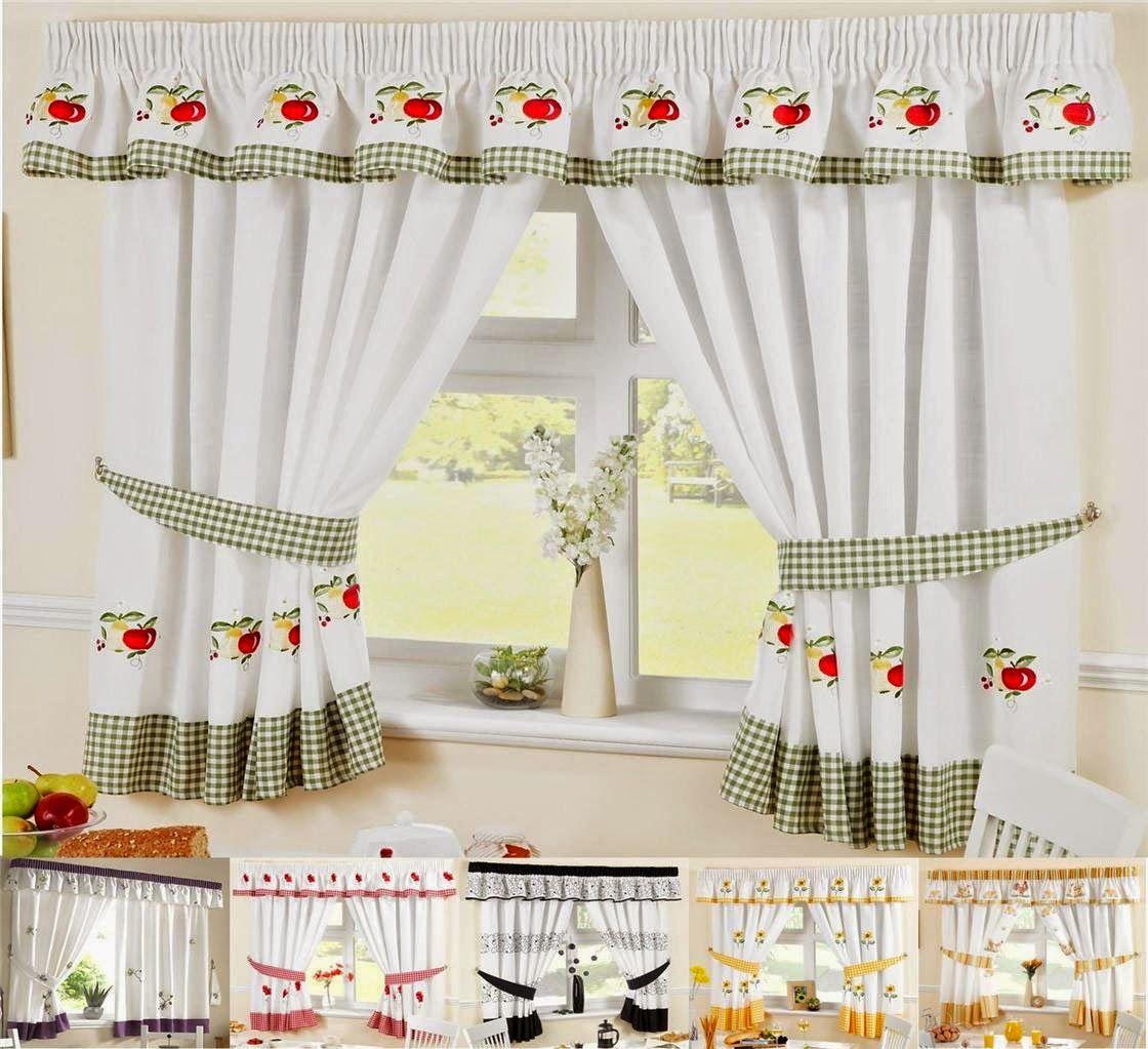 Contemporary Kitchen Curtain Ideas: Kitchen Curtain On Pinterest