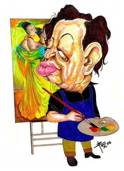 Diego Rivera By Remijangos Diego Rivera Caricaturas