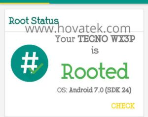 How to root the Tecno WX3P   TecMobs   Roots, Android