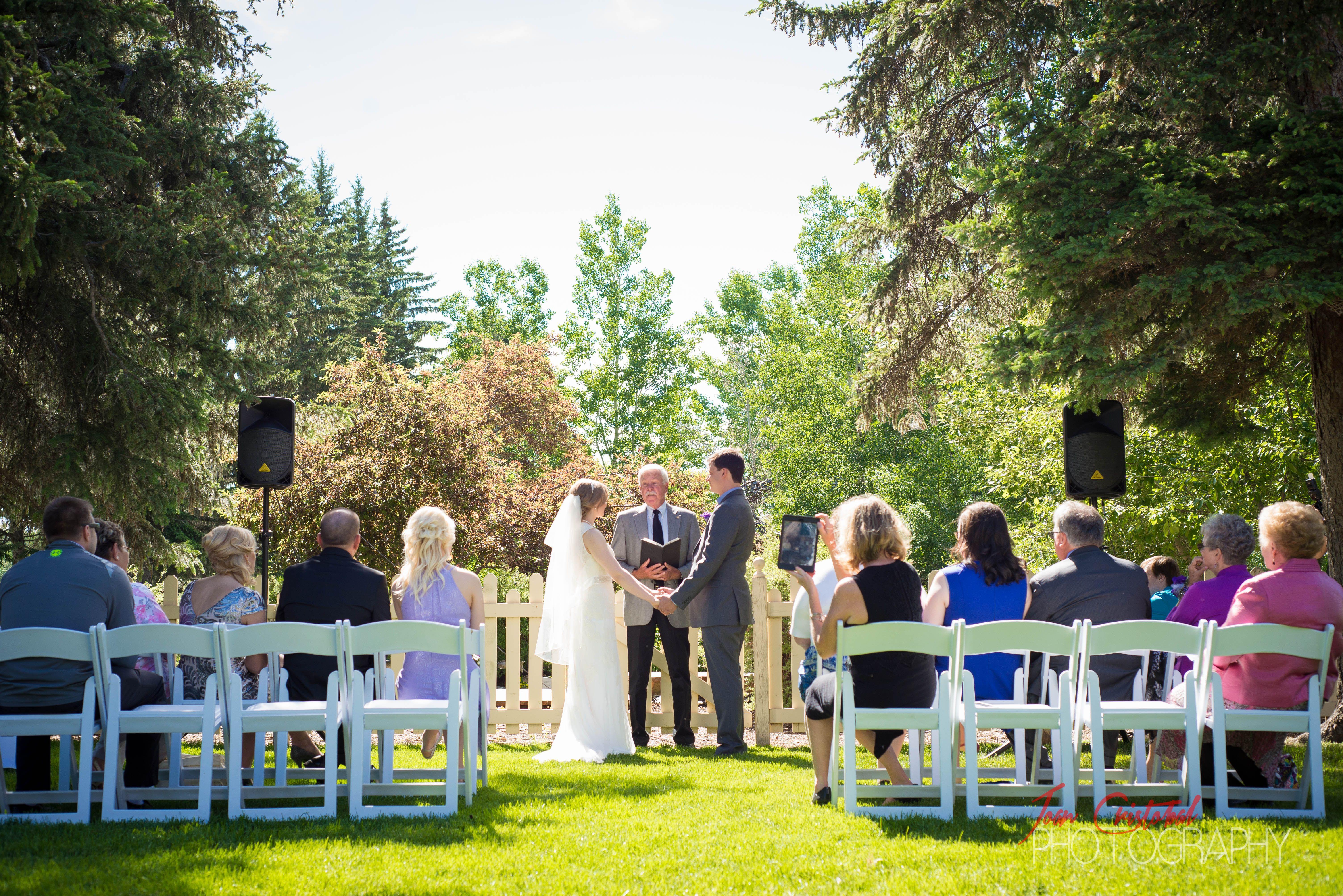 Lamb Wedding at Bow Valley Ranche  Location: Calgary  JoanCristobal.com