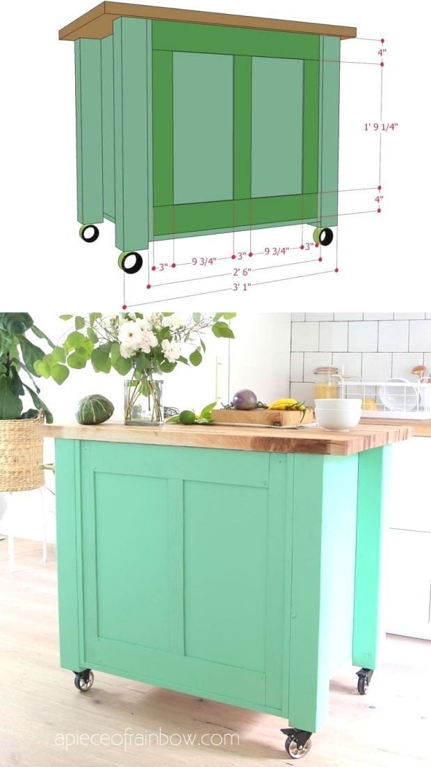 farmhouse diy kitchen island an ikea hack beautiful easy diy kitchen islan beautiful on kitchen island ideas diy ikea hacks id=69834