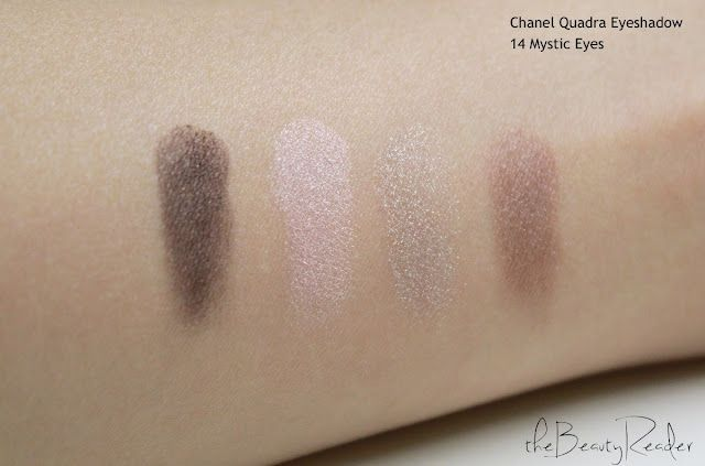 441b15e7feba The Beauty Reader  Review  Chanel Les 4 Ombres Quadra Eyeshadow in 14  Mystic Eyes