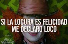 Me declaro loco #sombrerero #AliciaEnElPaisDeLasMaravillas #JohnnyDeep