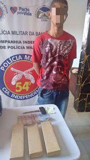 NONATO NOTÍCIAS: 54ª CIPM DE CAMPO FORMOSO PRENDE TRAFICANTE DE ÔNI...