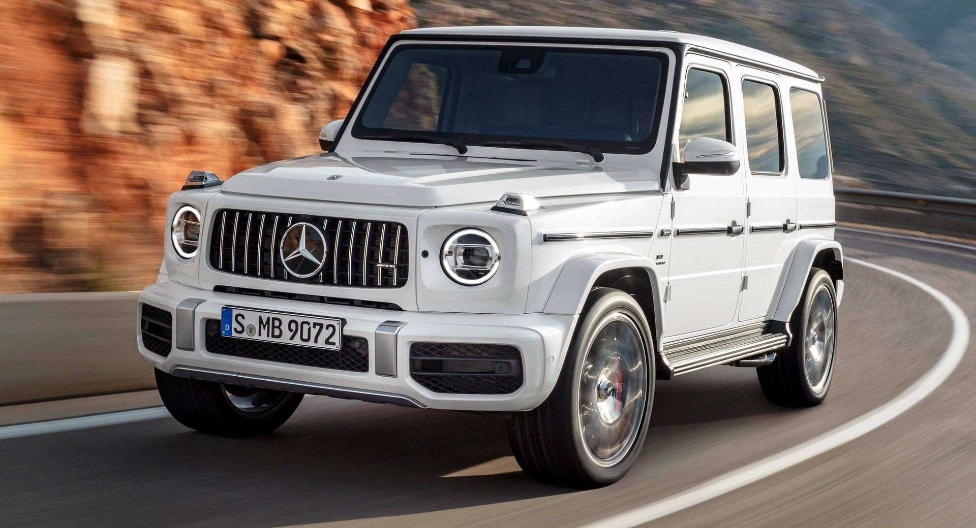 New Mercedes Amg G63 On Uk Shores In July From 143 305