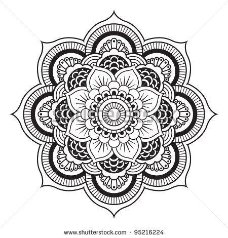 Mandala Tattoo Designs Printable Color Google Search