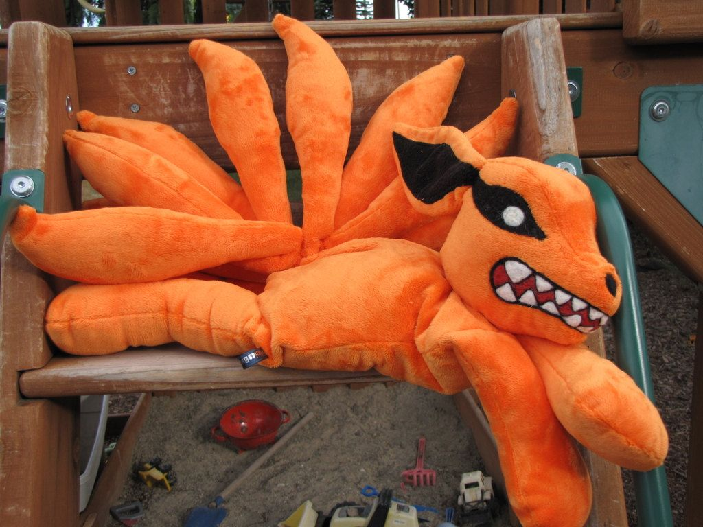 Naruto Ninetails STUFFED ANIMAL Sewing Pattern. $12.00, via Etsy ...