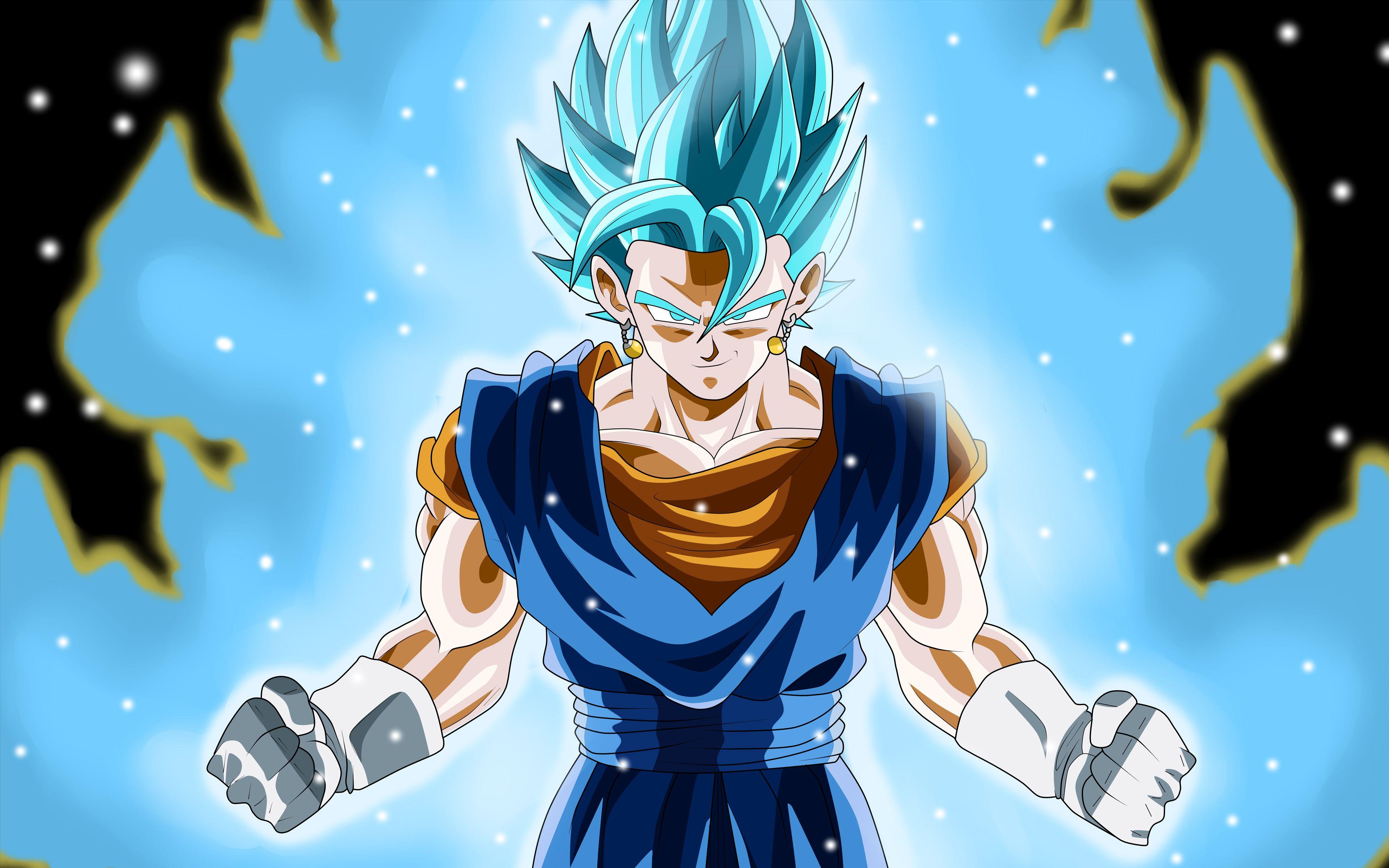 Super Saiyan Blue Vegito 4k 8k Dragon Ball Super Wallpapers Super Saiyan Blue Vegito Super Saiyan Blue