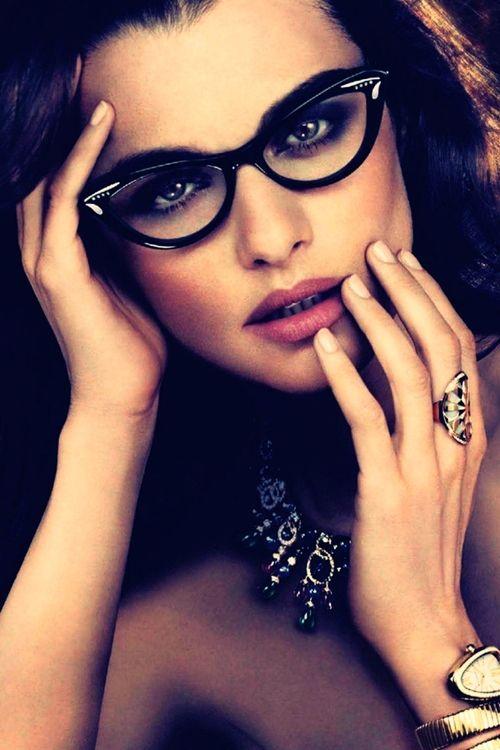 Rachel Weisz for Bulgari | Chicas con lentes, Lentes y Gafas