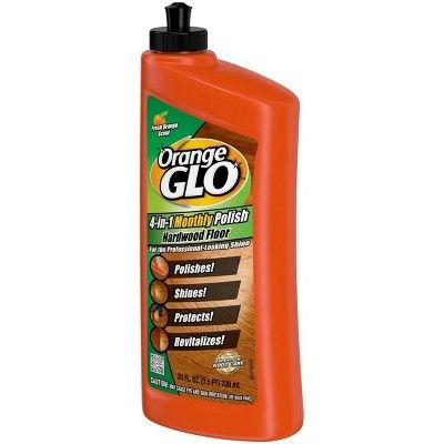 Orange Glo 4 In 1 Monthly Hardwood Floor Polish Orange