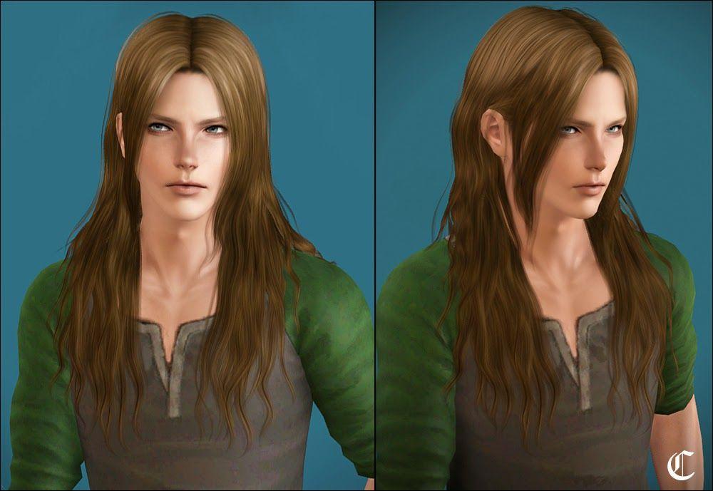 Sims 4 Long Male Hair