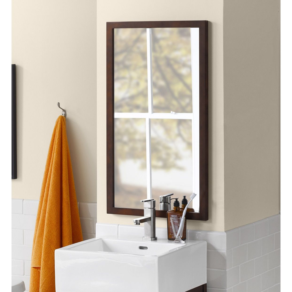 Alina Wall Mirror | Frame bathroom mirrors, Bathroom mirrors and ...