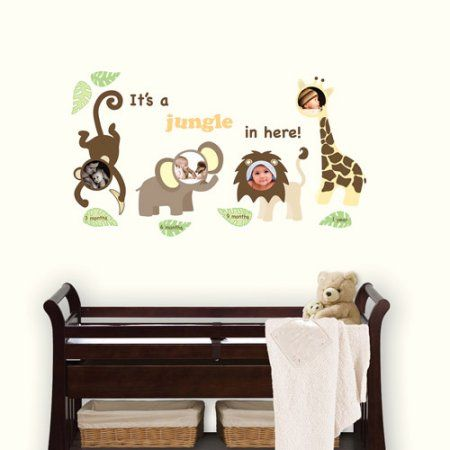 Home Improvement Frames on wall, Baby frame, Wall decals