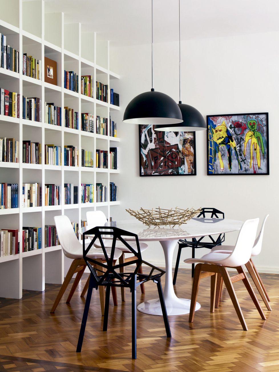 Se Voc N O Consegue Decidir Qual A Cadeira Ideal Para Ter Em Volta  -> Armario Estante Para Sala De Jantar