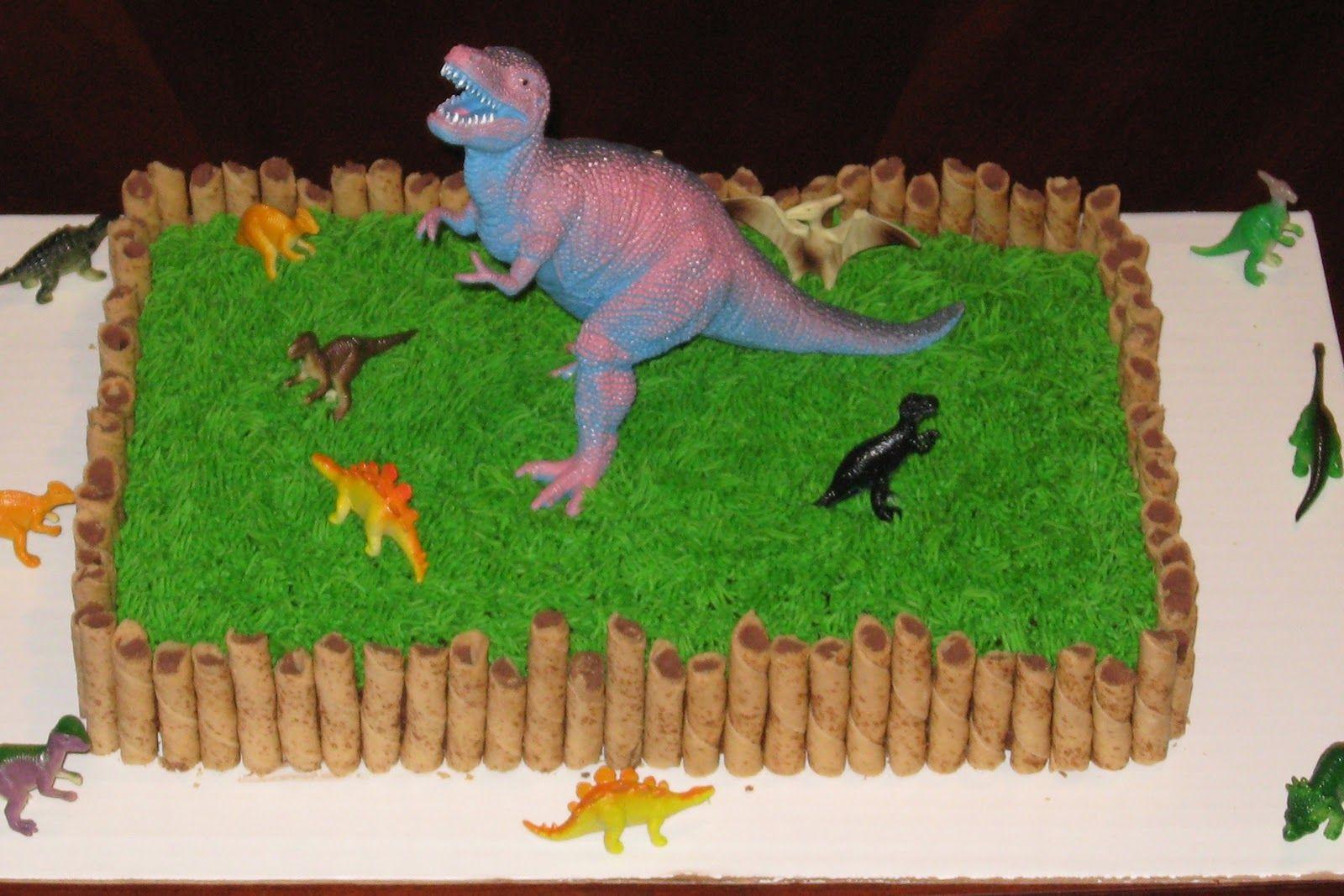 dinosaur birthday cakes easy dinosaur cake Scrapbookcom