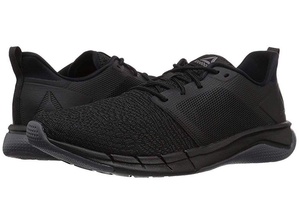 Reebok Print Run 3 0 Men S Running Shoes Black Ash Grey Running Shoes For Men Reebok Shoes Women Black Running Shoes