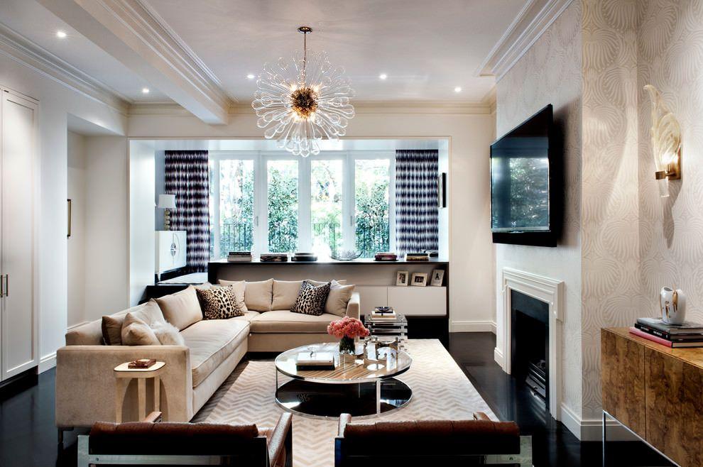 Wohnidee Fur Luxus Interieur Und Moderne Wohnzimmereinrichtung Von Einem Townhouse In Chelsea