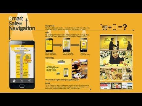 Emart navigeert klanten naar aanbiedingen in de winkels. De Zuid-Koreaanse supermarktketen combineert hiervoor een mobiele app met LED-technologie. In de buurt van een aanbieding verschijnt deze direct op het scherm van je telefoon.