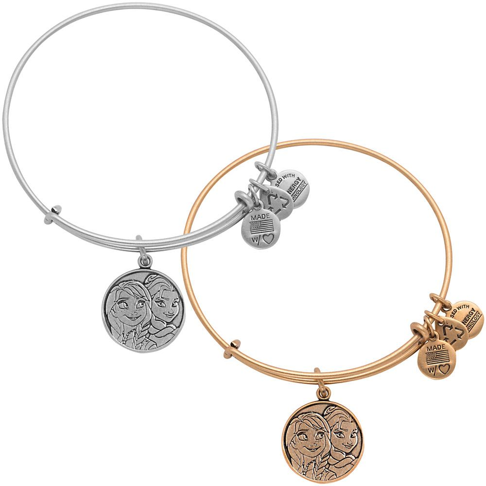Look Bug Sister Bracelets Anna And Elsa Bangle By Alex Ani