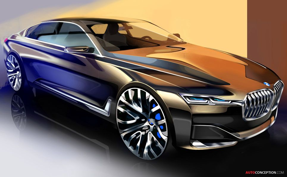 Bmw S Vision Future Luxury Concept Looks So Sleek And Shiny