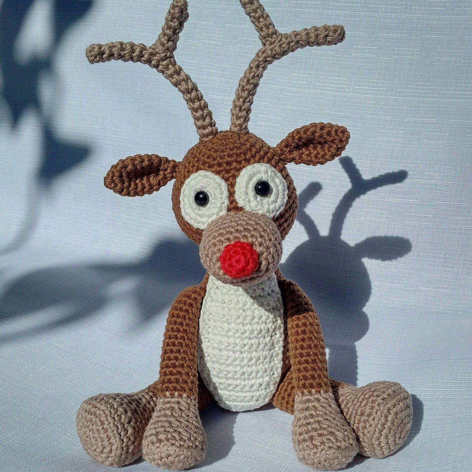 Amigurumi Rudolph – Pattern Crochet #crochetpattern #crochet ... | 1602x1601