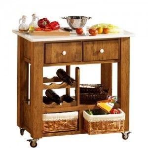Mesa de cocina auxiliar furniture pinterest yurts for Mesas auxiliares de cocina baratas