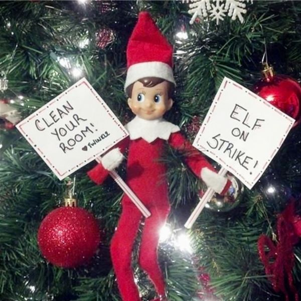 101+ Elf on the Shelf Ideas for Christmas 2019 (crazy elf! such PRANKS!) #elfontheshelfideas