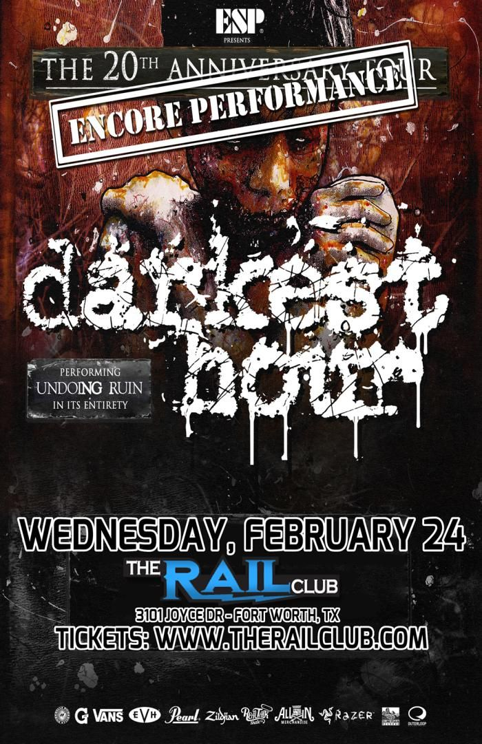 February 24, 2016 @ Rail Club - Darkest Hour