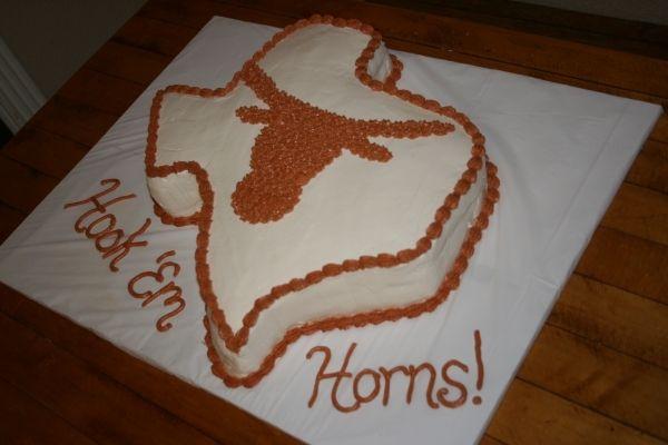 Texas Longhorns Grooms cake