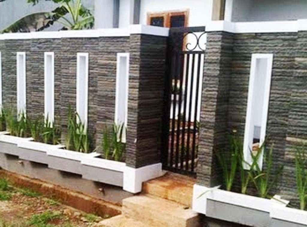 Batu Alam Model Pagar Tembok Rumah Minimalis Type 36 Content