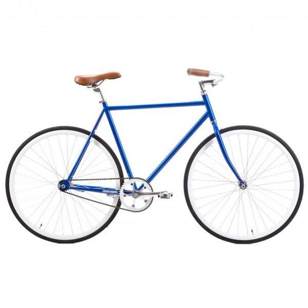 Retro Siddhartha Azul Hypebike Fahrrad Singlespeeder Fahrzeuge