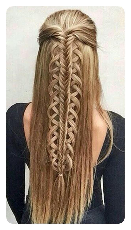 104 ideas simples para trenzas de cola de pez y sus instrucciones paso a paso – peinados – peinados de tendencia – modelo de cabello