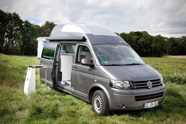 bettmobil slideout bed box vw volkswagen t5 hochdach. Black Bedroom Furniture Sets. Home Design Ideas