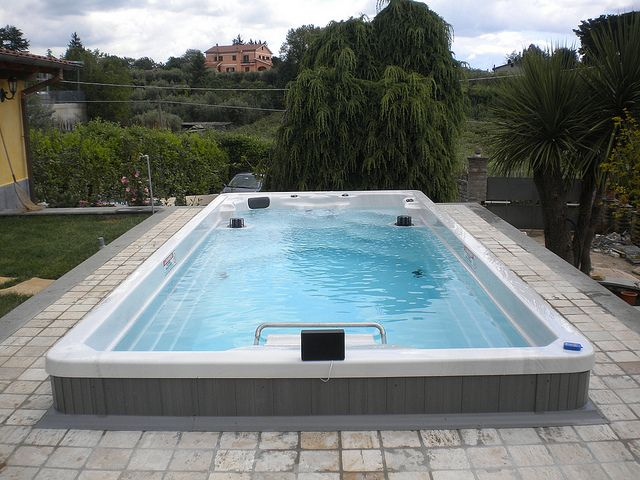 The 17 39 Endless Pool Swim Spa Is The Perfect Combination For Water Exercise Aquatic Therapy And