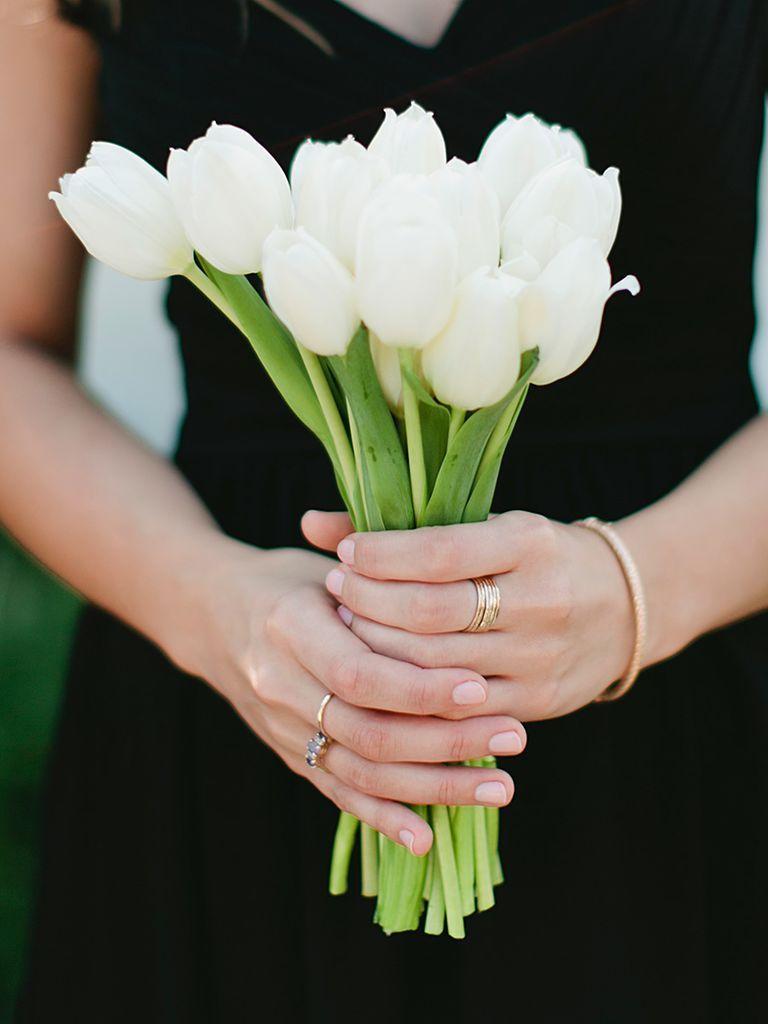 tulip wedding bouquet cost