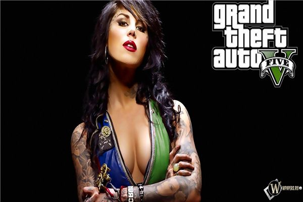 Grand Theft Auto Game Wallpapery Girl Gta  Sticker Custom Canvas Gaming Poster Grand Theft