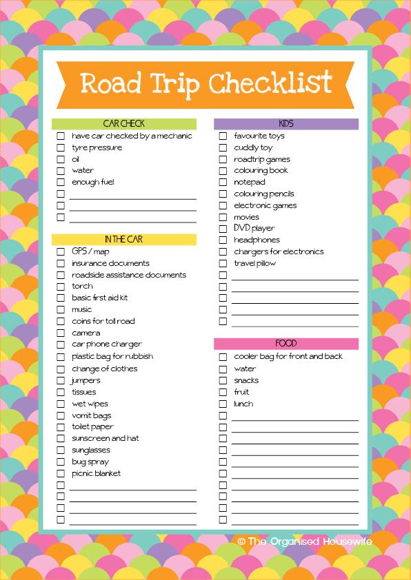 road trip checklist and aussie road trip games book road trip checklist road trip games and. Black Bedroom Furniture Sets. Home Design Ideas