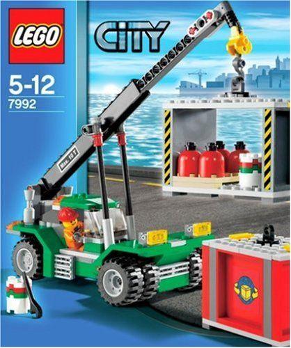 Lego City Jeu De Construction Le Transporteur De Conteneurs
