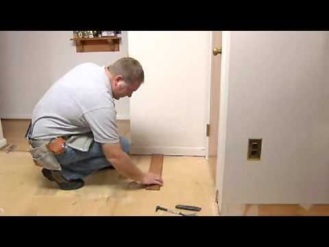 How To Install A Hardwood Floor House Projects Ceiling And Ceilings