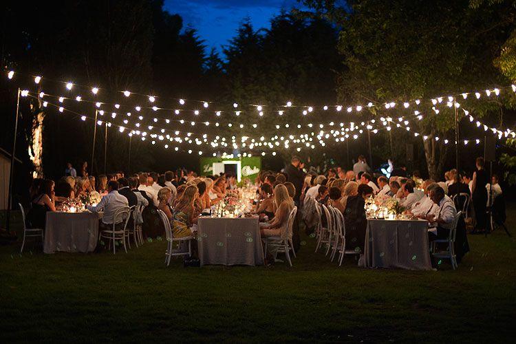 Decofilia te muestra todo tipo de ideas de iluminaci n for Decoracion boda exterior