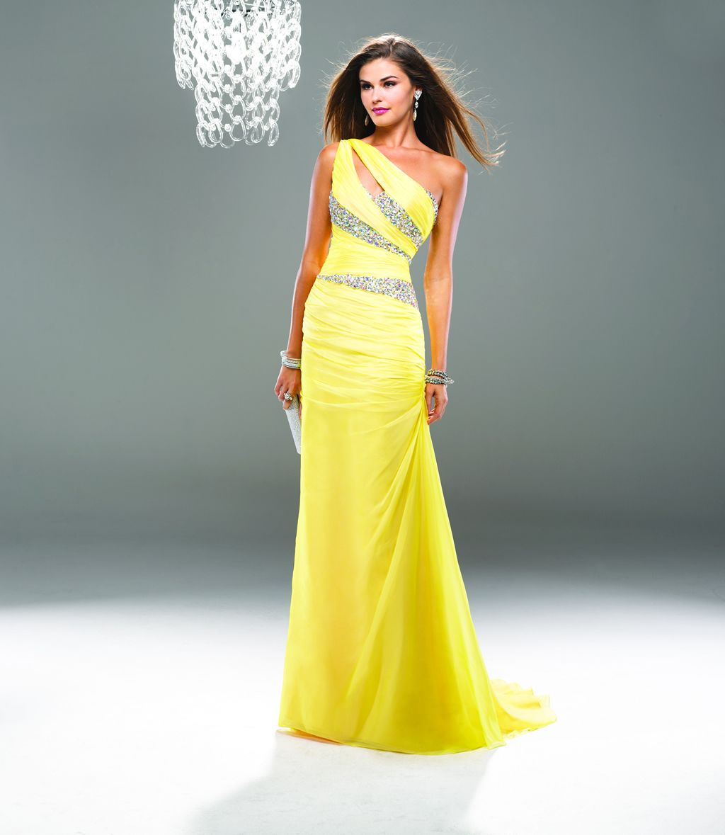 $99 27dress.com made to order New Arrival Elegant Beading Yellow ...