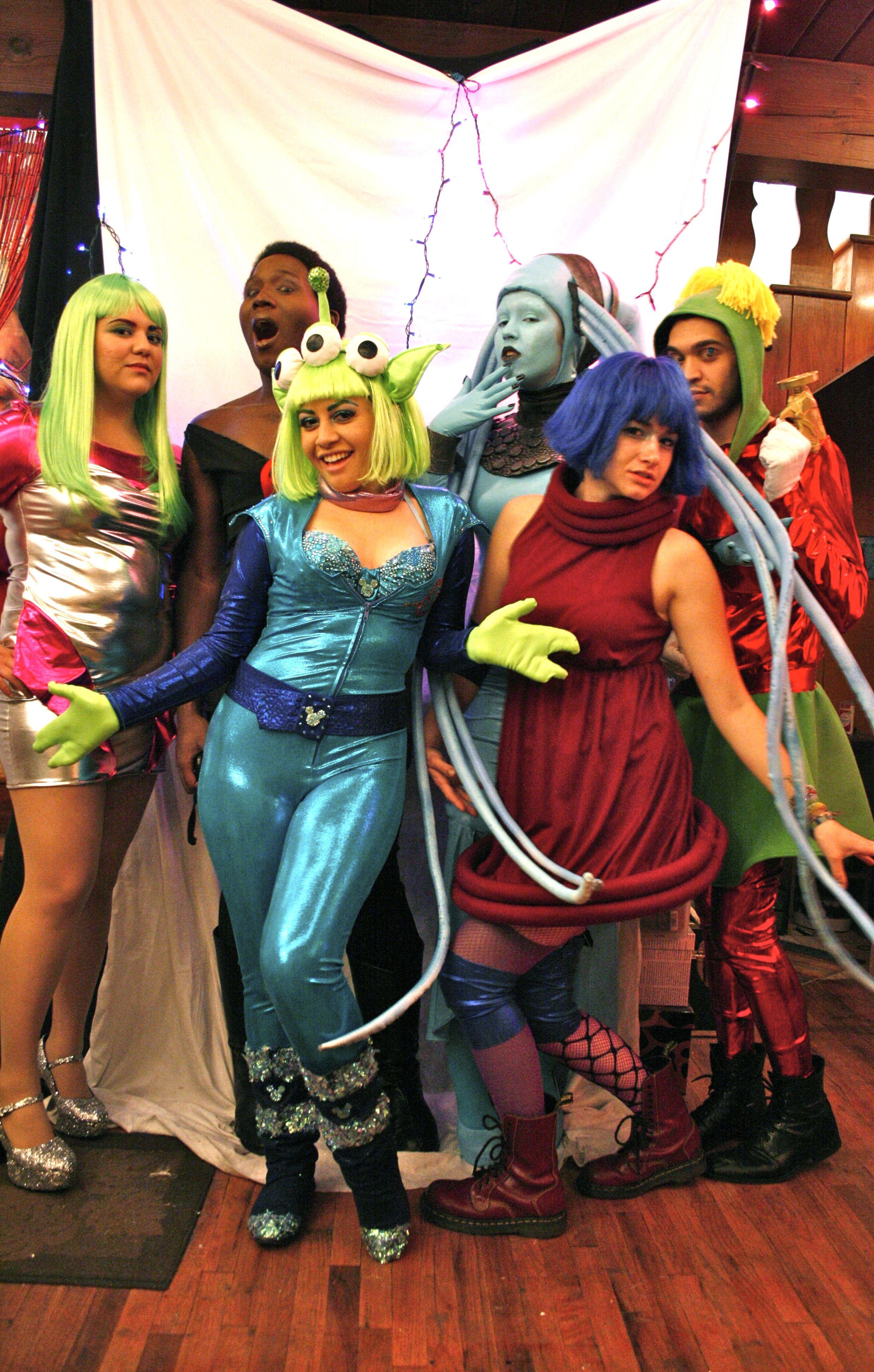An Intergalactic Costume Ball. Costume Ideas