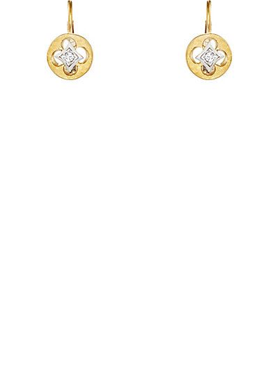 We Adore: The Quatrefoil Drop Earrings from Cathy Waterman at Barneys New York