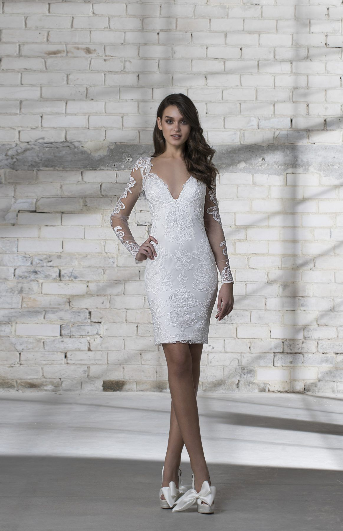 63 Cocktail Length Gowns Ideas In 2021 Wedding Dresses Dresses Kleinfeld Bridal