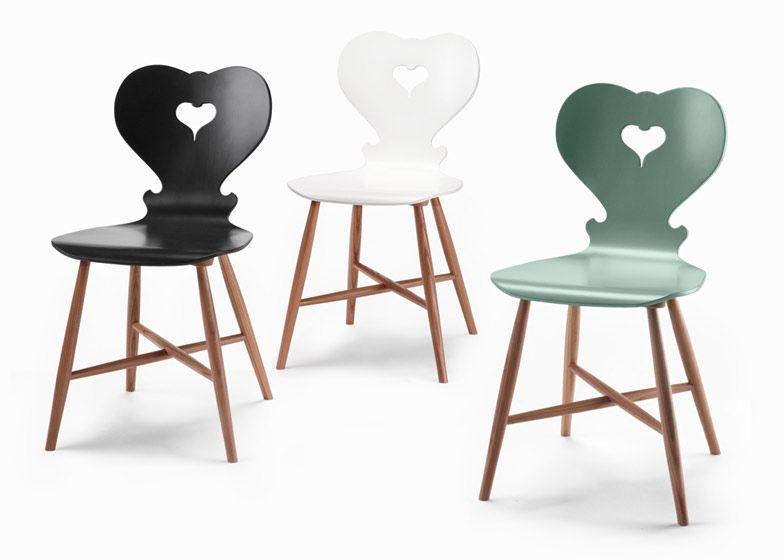 Austrian Design Company Schmidinger Möbelbau Has Created A Chair Thatu0027s A  Cross Between Traditional Alpine Furniture