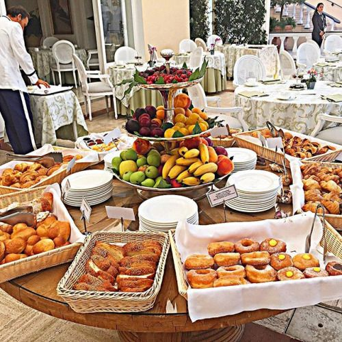 #Breakfast #Brunch #Buffet | Breakfast buffet table ...