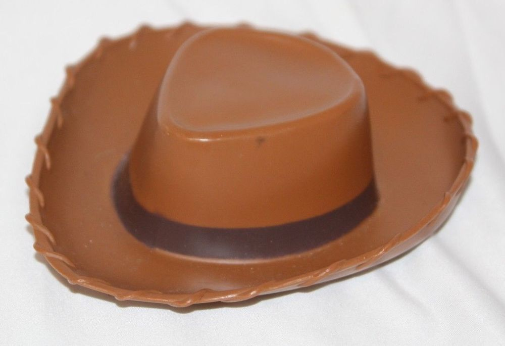 00c001409 Disney Toy Story Woody Brown Cowboy Hat Replacement Plastic 6 ...